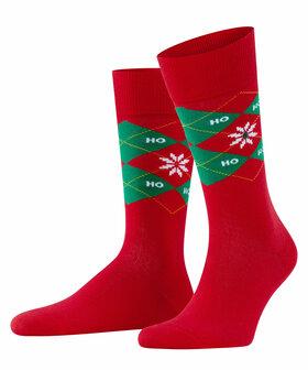 Socken Xmas Argyle