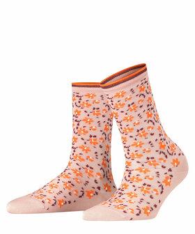 Socken Romantic Flower