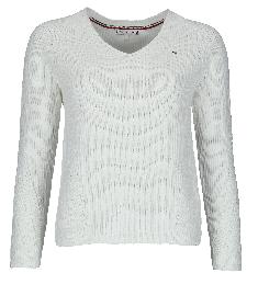 Rippstrick-Pullover Hayana V-Ausschnitt