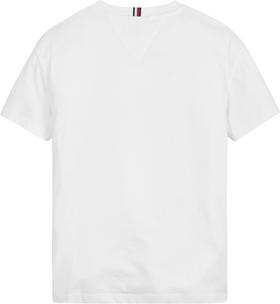 Bio-Baumwoll-T-Shirt mit Palmen-Fotoprint