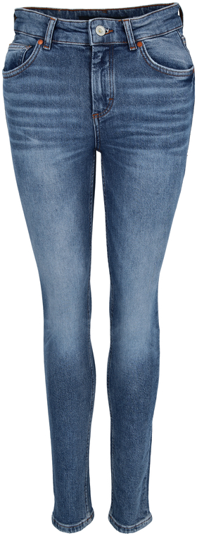 Denim Trouser, high waist, skinny l