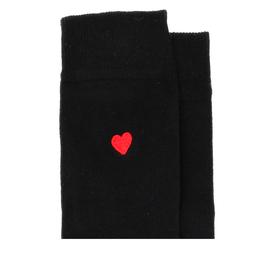 Socken mit Herz-Stickerei