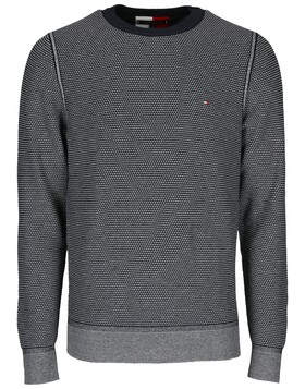 Two Tone Structure Sweater