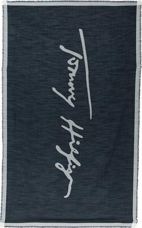 Schal mit Logo-Signatur