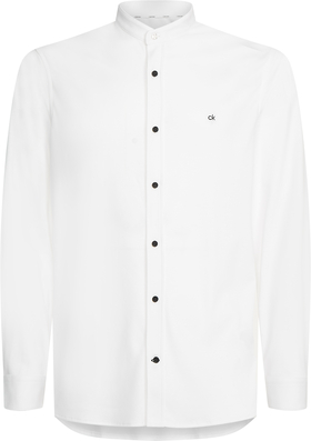 Slim Fit Hemd mit Stehkragen