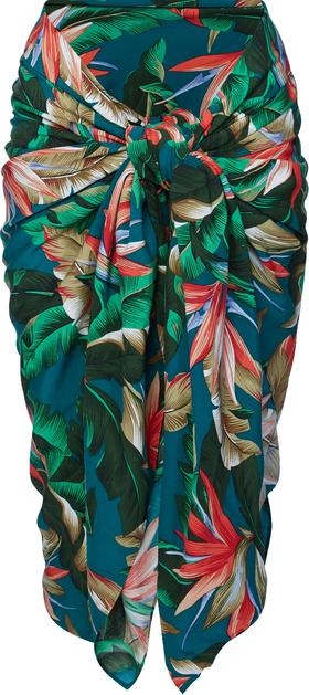 Sarong mit tropischem Palmenprint