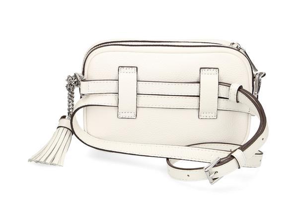 Wandelbare Kameratasche aus gekrispeltem Leder