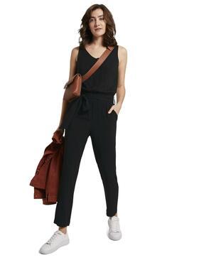 Jumpsuit with elastic waist