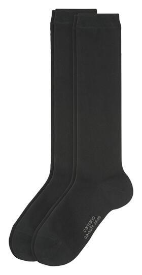 Women Basic ca-soft Knee-high 2p