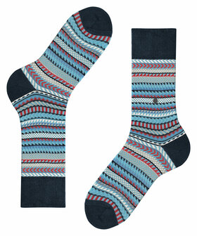 Socken Digital Fair Isle