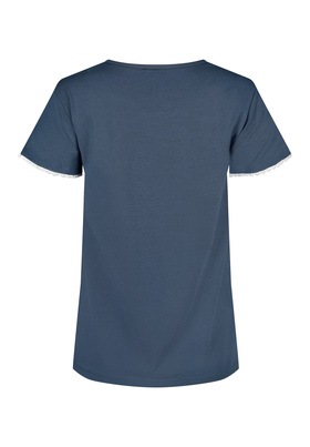 Skiny Damen Shirt kurzarm Palm Tree Sleep