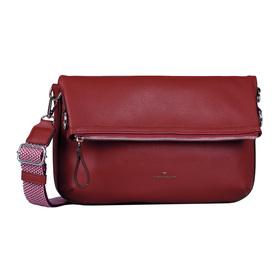 Emila Cross bag, Cross bag M dark red