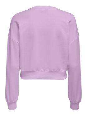 Rüschendetail Sweatshirt