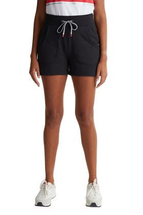 Sweat-Shorts aus Baumwoll-Mix