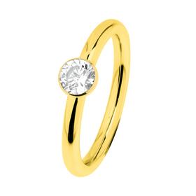 "Ring ""Stahl R469.WH"", Gr. 56"