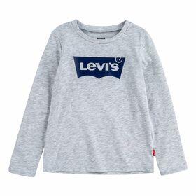 Langarm-Shirt mit Logo-Print