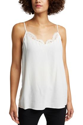 Women Blouses woven sleeveless
