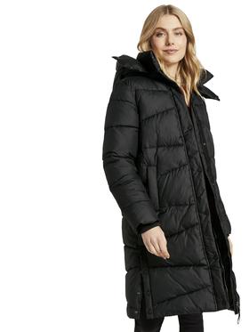 sustainable puffer maxi coat