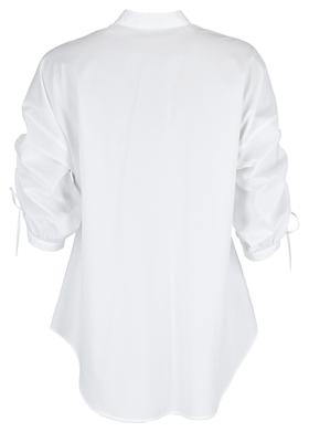 """Relaxed-Fit Bluse """"Benima"""" aus Bio-Baumwolle mit verstellbaren Ärmeln"""