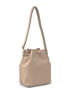 AMALIA Bucket bag, light rose