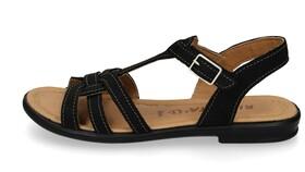 "Sandale ""Birte"" mit Knotenoptik"