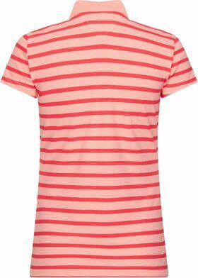 Slim Fit Poloshirt mit Breton-Streifen