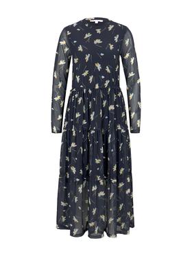 midi mesh dress