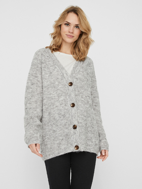 VMDAISY LS BUTTON RIB CARDIGAN GA BOO
