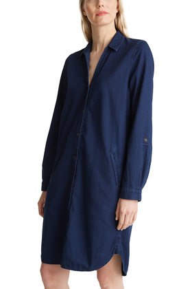 Jeanskleid aus 100% Baumwolle