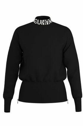 """Pullover mit Logo-Kragen """"Sushana"""""""