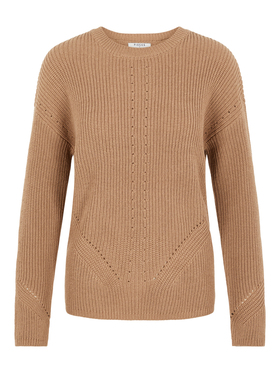 PCKARIE LS O-NECK KNIT NOOS