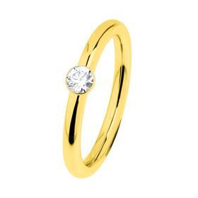 "Ring ""Stahl R466.WH"", Gr. 52"