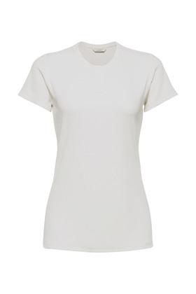 Henley Shirt aus Feinripp-Jersey
