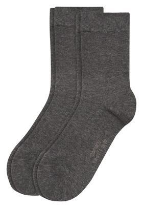 Women Basic ca-soft Socks 2p