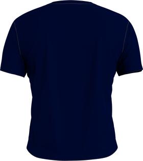 T-Shirt mit Logomuster