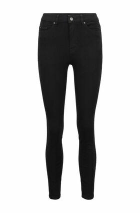 Super Skinny-Fit Jeans aus Stretch-Denim mit Stay-Black-Treatment