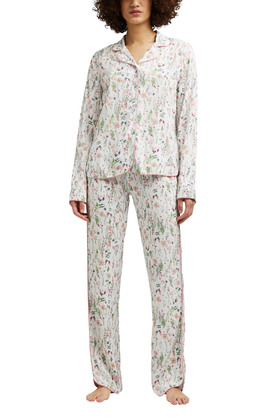 Blumen-Pyjama aus LENZING™ ECOVERO™