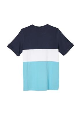T-Shirt mit Colour Blocking