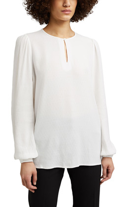 Fein strukturierte Bluse aus LENZING™ ECOVERO™