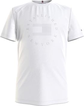 T-Shirt aus Bio-Baumwolle mit New York-Logo