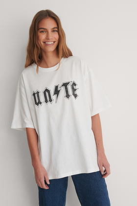 Organic T-Shirt mit Print