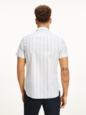 "Slim Fit Hemd ""Grid Dobby Stripe"""