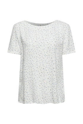 Print-Bluse aus LENZING™ ECOVERO™