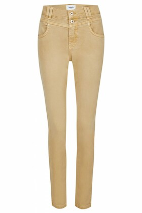 "Jeans ""Skinny Button"" in Coloured Denim"