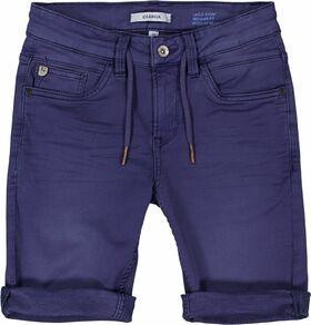 Jeansshorts mit Zugbändern