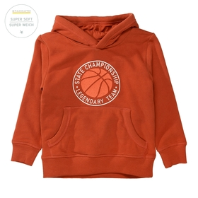 Hoodie mit Basketball-Print