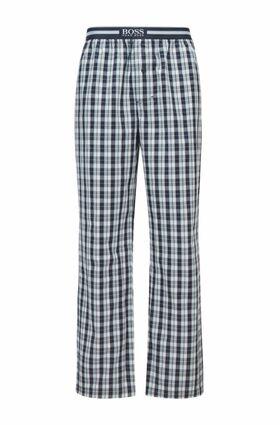 Pyjama-Hose aus karierter Baumwolle