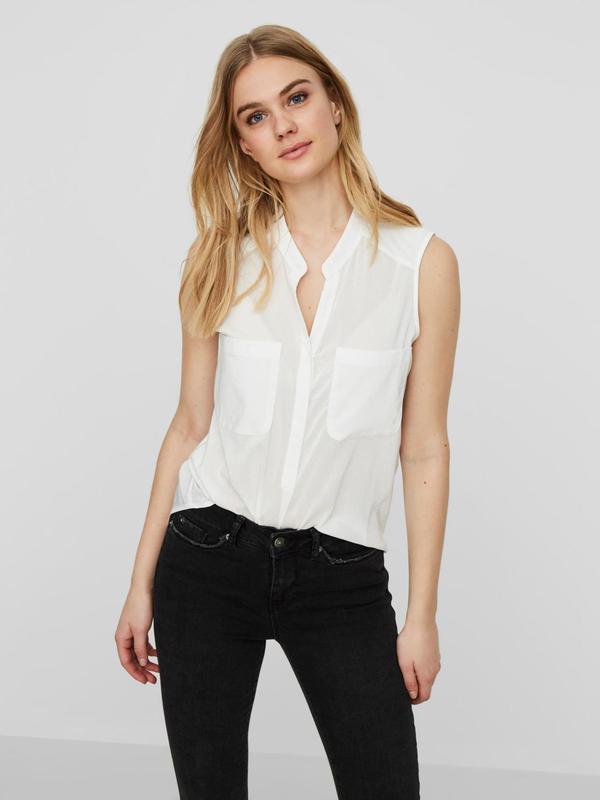Klassisches Hemd ohne Ärmel