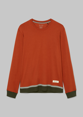 M-SHIRT LS CREW-NECK