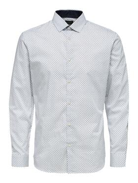 SLHSLIMNEW-MARK SHIRT LS B NOOS